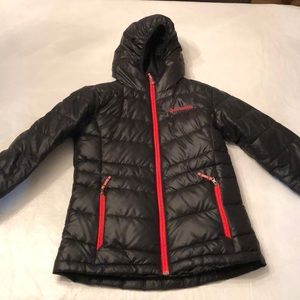 Kids Columbia turbo down puffer jacket med 10/12